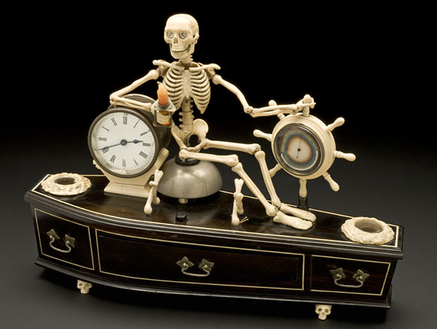 Alarm clock, 1840 – 1900. Science Museum, London © Science Museum / Science & Society Picture Library