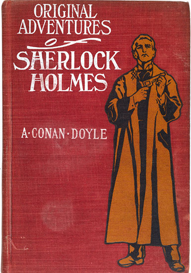 Sherlock Holmes cover, first edition published New York 1903. [Image: Museum of London]