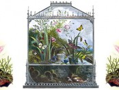 antique aquarium