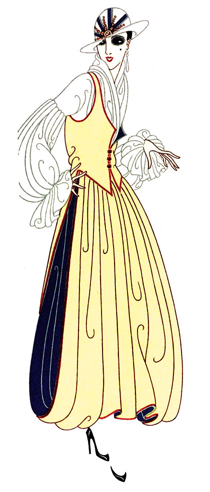 DESIGNS BY ERTE OF PARIS, C.1916