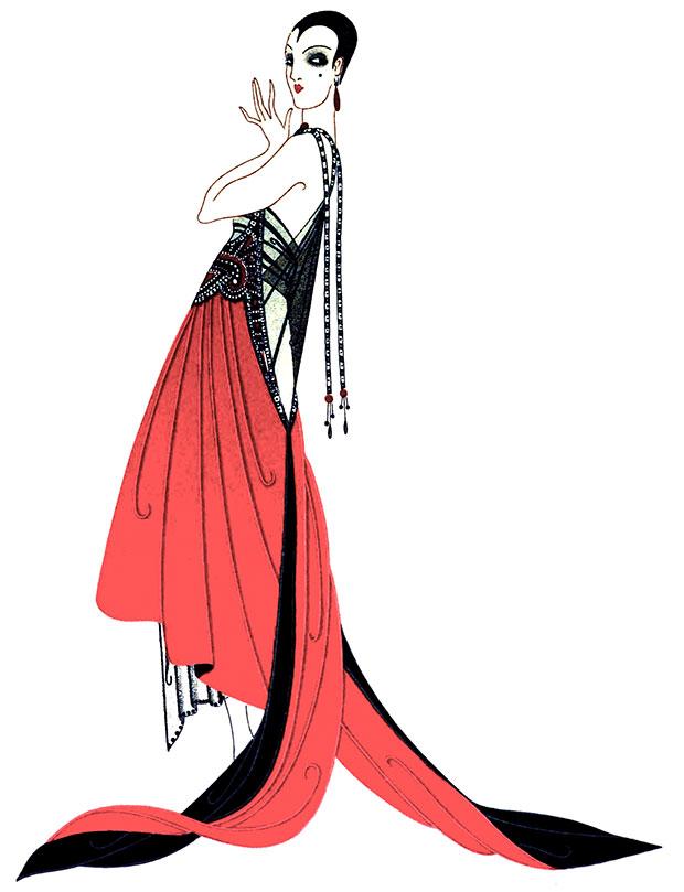 EVENING DRESS, C.1916