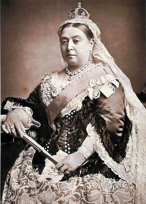 Queen Victoria was on the throne for 63 years from 1837 until 1901