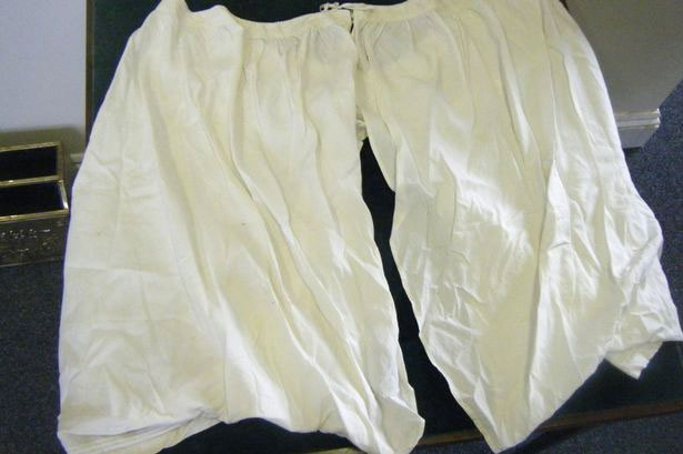 Queen Victoria's 52 inch bloomers sell for £6,200