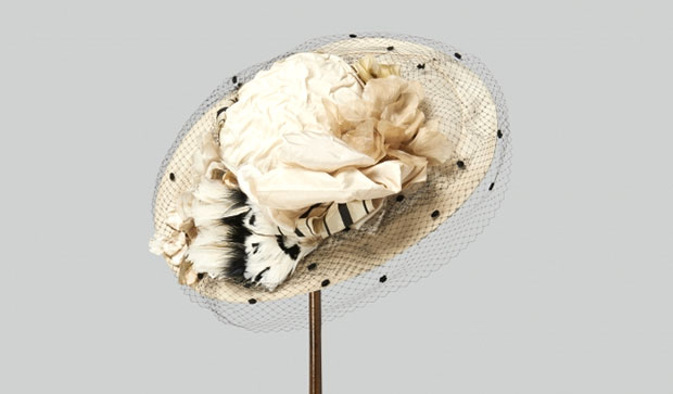 Cora Crawley, Countess of Grantham hat. Photo Credit: Exhibits Development Group.