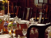 How to Set a Formal Dinner Table and a Round Table Setting