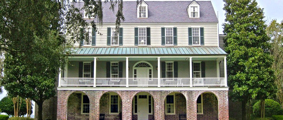 South Carolina Plantation House