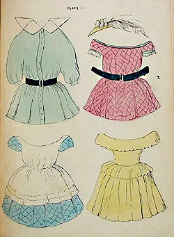 Free Dresses | Printable Doll Clothes | 341x250