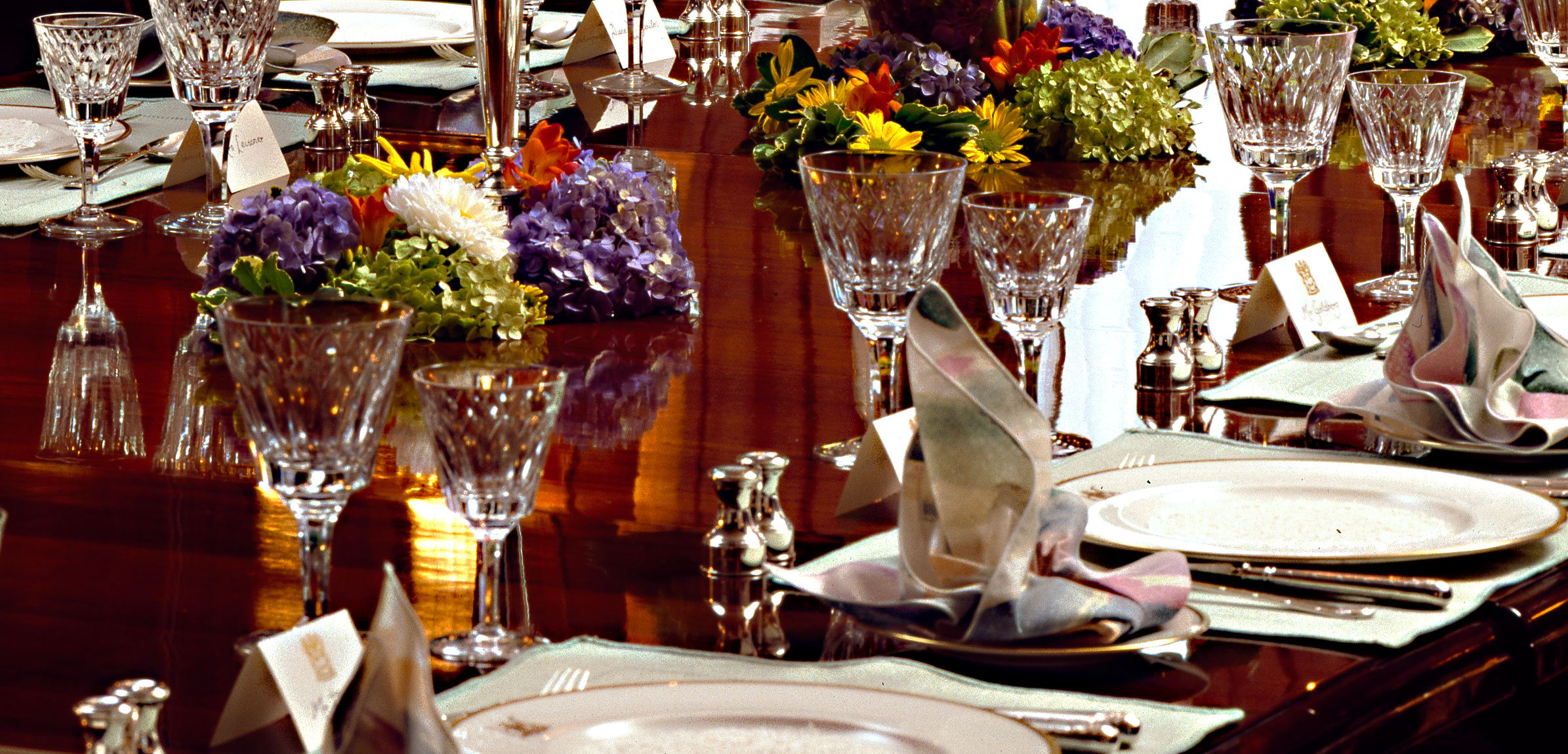 Banquet Table Setting Part - 43: #5 Table Centerpiece