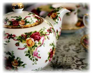 Elegant Tea Pot For Afternoon An Or Victorian Party