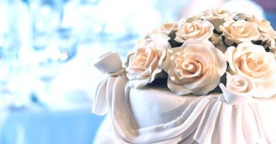WEDDING CAKE RECEPTION