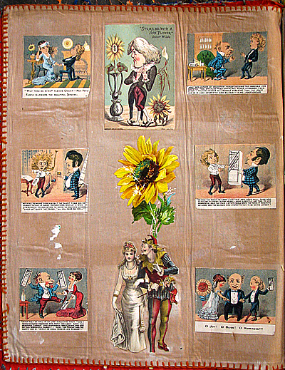 victorian antique scrapbook
