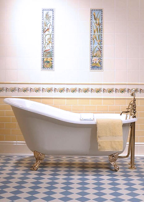 Antique Tub And Tiles