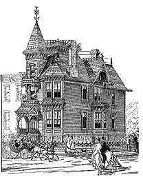 Victorian House Plans: 50 Victorian Stick-Style Designs from