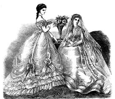 Victorian Style Wedding Dresses From Harpers Bazaar Pictures