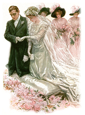 Victorian wedding traditions victoriana magazine victorian wedding junglespirit Images