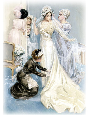 Miraculous Victorian Wedding Make It Your Dream Victorian Weddings Site Short Hairstyles Gunalazisus
